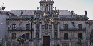 Fachada Universidad de Valladolid