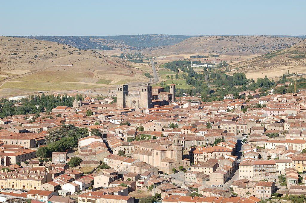 Vista de la Ciudad de Sigüenza