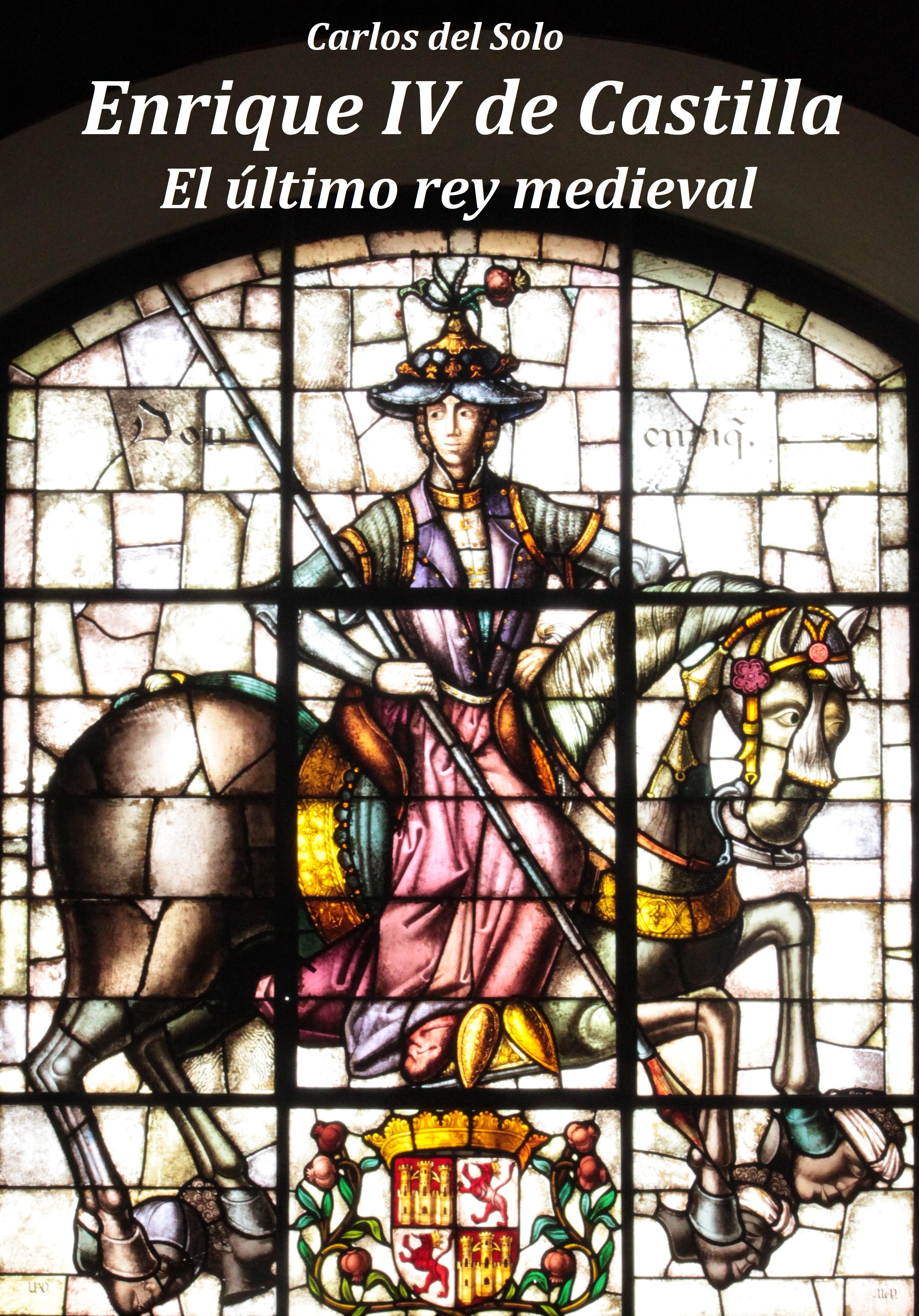 Enrique IV de Castilla. Portada de la Novela